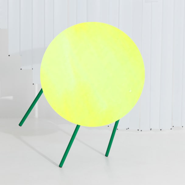 Chaise métal FROMME - vert menthe - Petite Friture