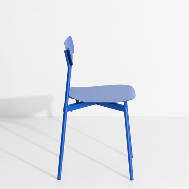 Chaise métal Fromme - Bleue - Petite Friture