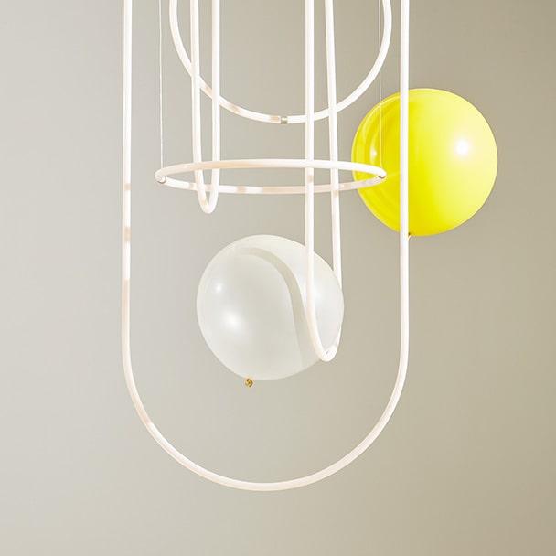 Unseen chandelier