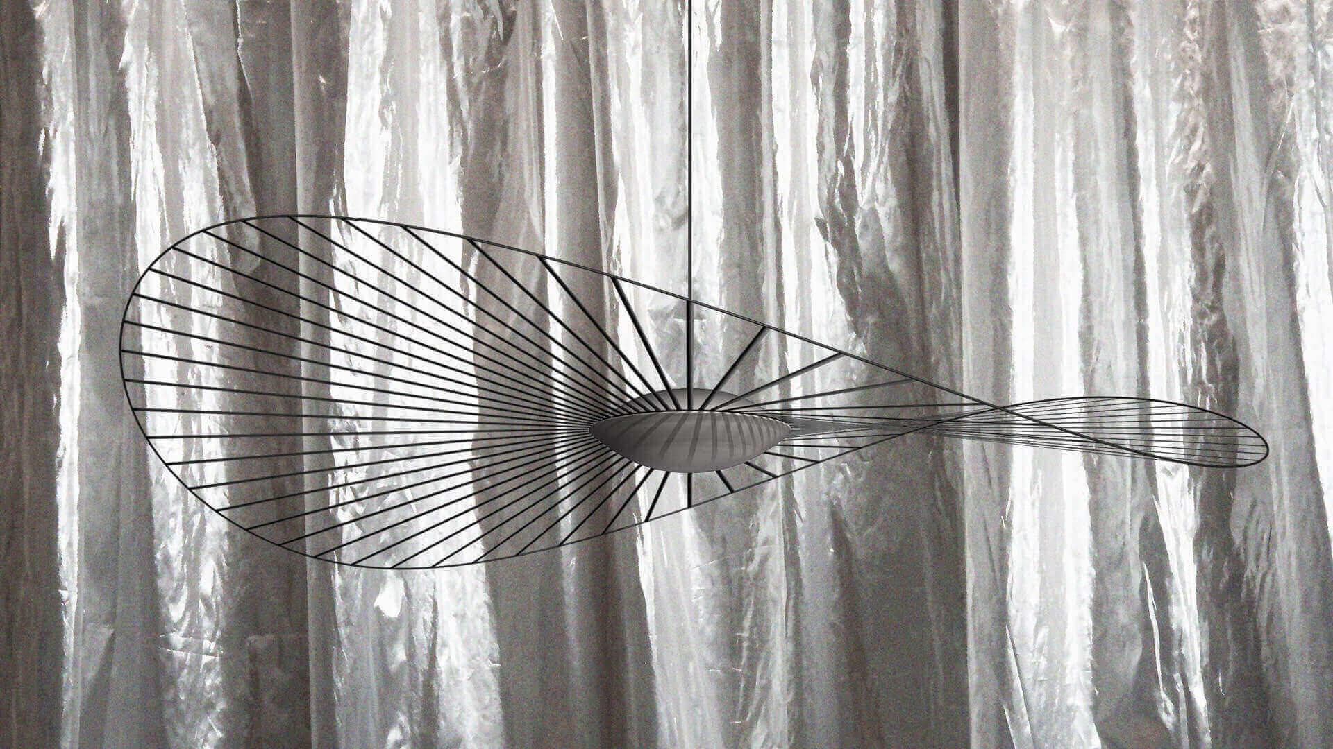 Lampe Vertigo Nova noire - Petite Friture