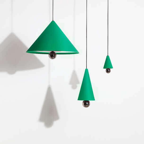 Cherry LED lights mint green - Petite Friture