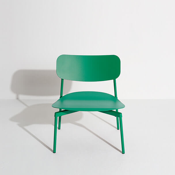 Fauteuil lounge Fromme vert menthe - Tom Chung